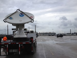 NOAA XPol (NOXP) preparing to participate in the HyMeX Experiment.