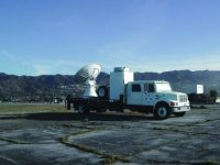 NSSL's mobile radar collects data on summer storms in the Colorado mountains