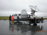 Mobile radar heads to California for debris flow experiment
