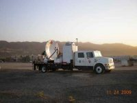 Mobile radar collects data for debris flow experiment