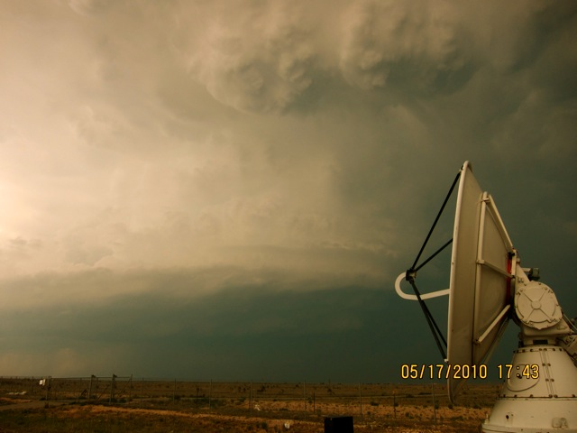 SR on a supercell in Artesia, NM