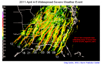 April 4-5, 2011 Severe Weather