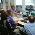 Scientists and forecasters collaborate during the HWT Spring Experiment