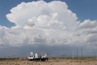 NSSL's mobile radar being used to help understand dust storms