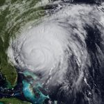 Hurricane Irene heads for the Outer Banks