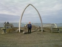 NSSL scientist teaches students about weather in Barrow, Alaska