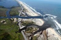 New inlets made by Hurricane Irene