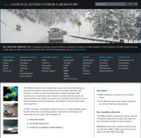 NSSL unveils re-designed web presence