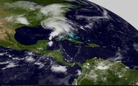 CI-FLOW total water level system prepared for test by Tropical Storm Andrea