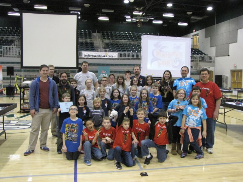FLL winning teams!