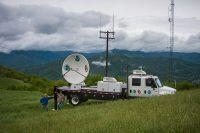 Mountaintop radar