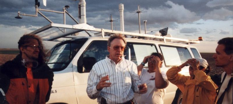 NSSL Announces Passing of Pioneering Lightning Researcher Dave Rust