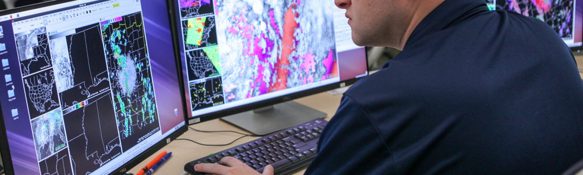 Researchers evaluating lightning data in Hazardous Weather Testbed