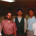 Qin Xu at a meteorology conference in 1983.