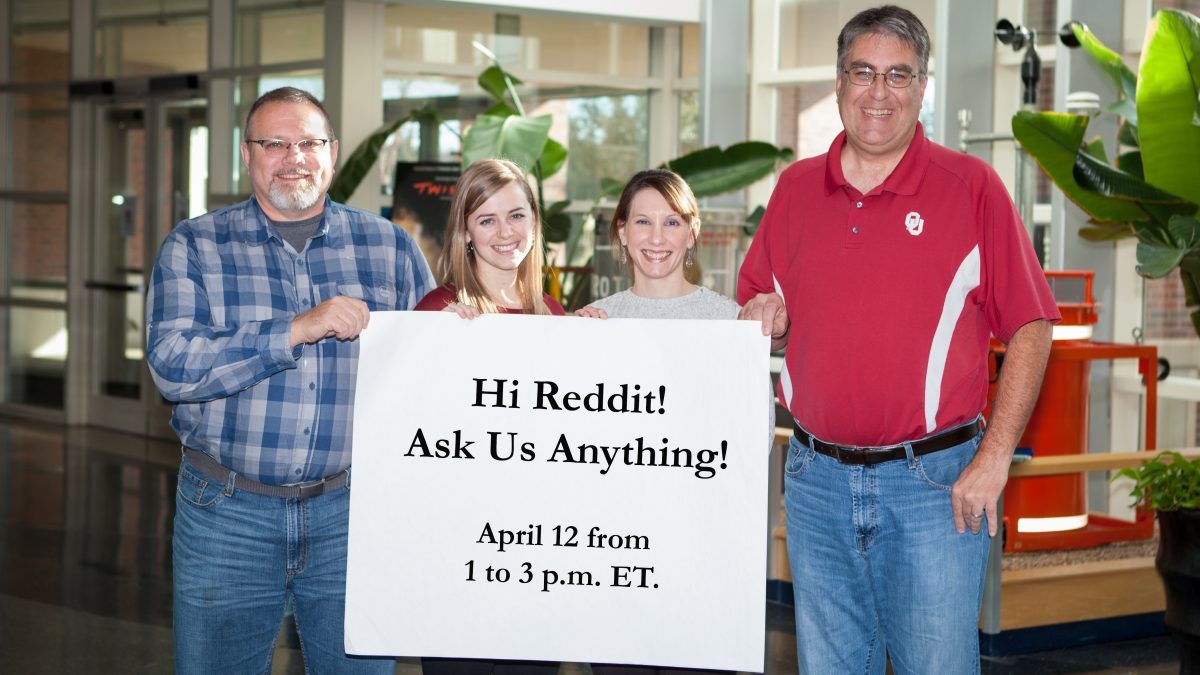 April 12th Reddit AMA: What's On the Radar? | Talk Weather Research with NOAA
