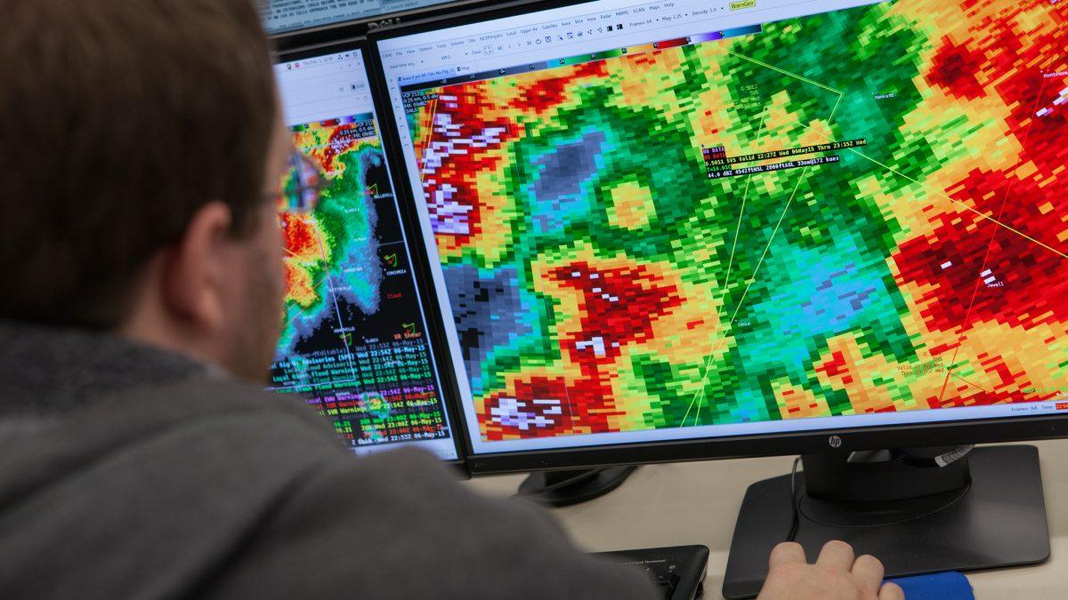 Radar experts publish new book on weather radar technology