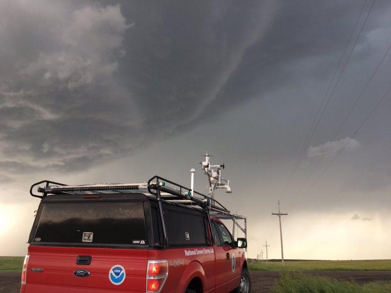 RiVorS vehicle near Arnold, KS