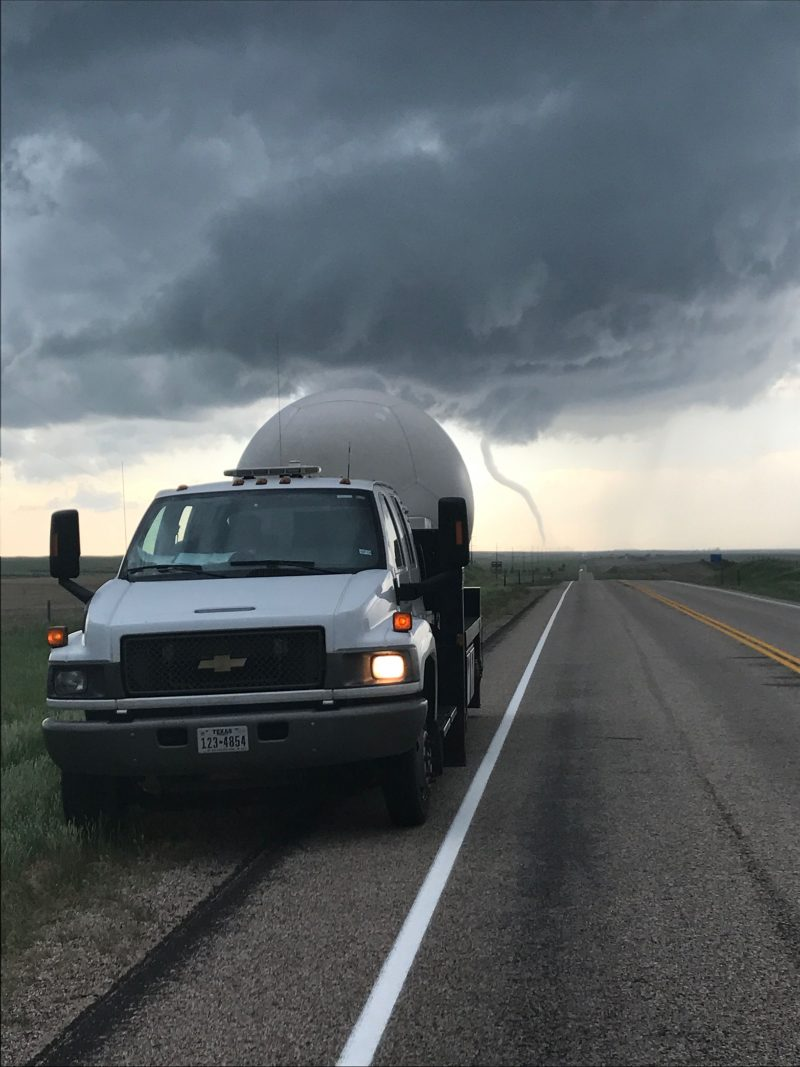 TTU radar in Wyoming