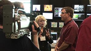 Media interview with NSSL scientist