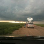 Tribune, Kansas, NOXP and funnel. Credit: Amy Buchanan