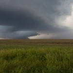 Intense updrafts produce a rain-free cloud base in a supercell thunderstorm. Credit: UCAR