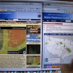 These are good websites to watch when severe weather might be coming. Credit: Susan Cobb