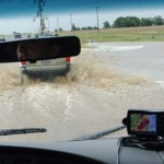 Flooded roads in Texas. Credit: Mike Coniglio - NSSL